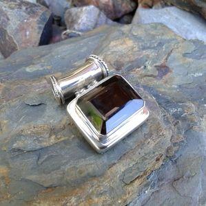 Jewelry - Sterling Silver Smoky Quartz Pendant